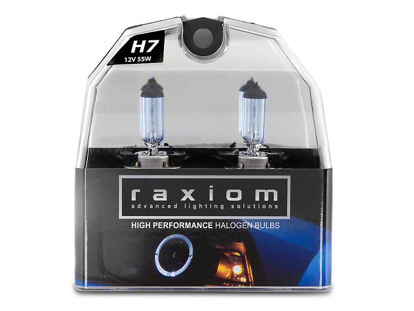 Raxiom Elite Headlight Bulbs; H7 (99-09 w/ Aftermarket Headlights)