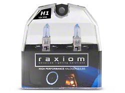 Raxiom Elite Headlight Bulbs; H1 (99-09 w/ Aftermarket Headlights)