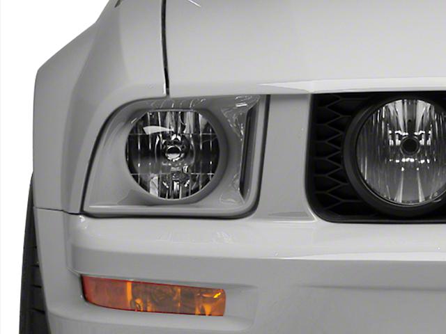 Raxiom Retro Style Headlights - Unpainted (05-09 GT, V6)