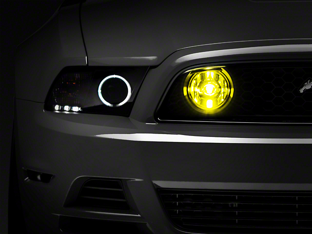 Raxiom Fog Lights; Yellow (13-14 GT)
