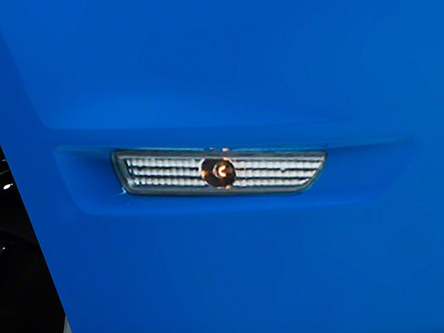 Axial Side Marker Lights; Chrome (10-14 GT, V6)
