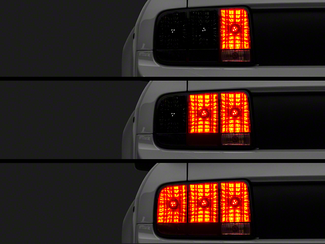 Raxiom LED Sequential Tail Light Kit; Plug-and-Play (05-09 All)