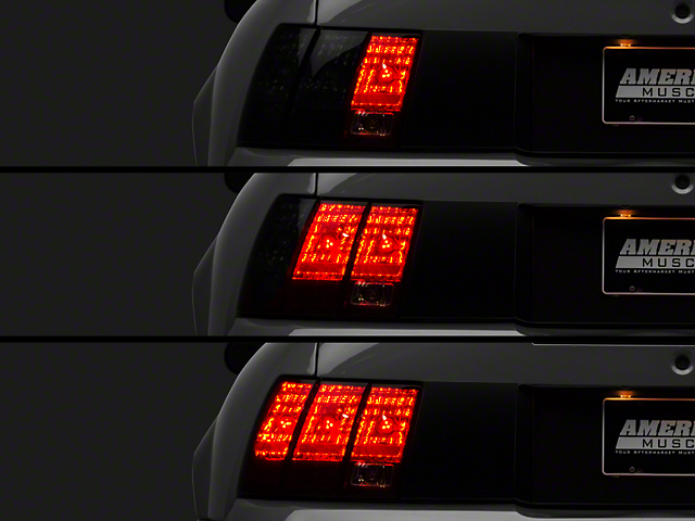 Raxiom LED Sequential Tail Light Kit - Plug-and-Play (96-04 All; Excluding 99-01 Cobra)