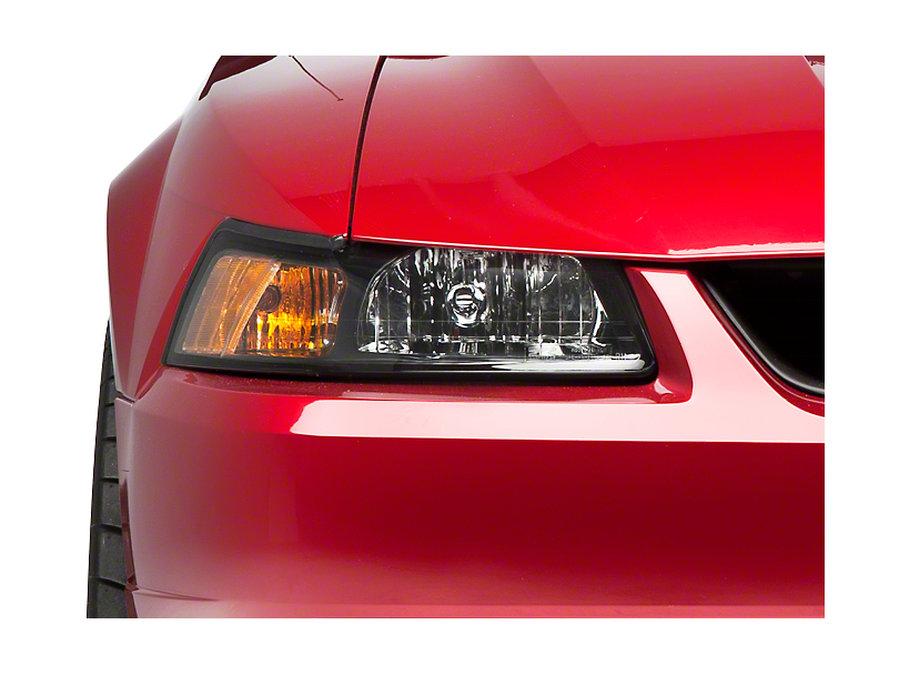 Axial Stock Replacement Headlights; Black; Passenger Side (99-04 All)