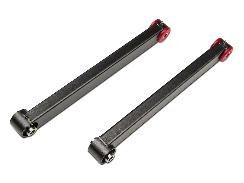 BMR Rear Lower Control Arms - Spherical Bearings - Hammertone (05-14 All)