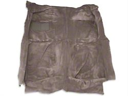OPR Replacement Floor Carpet; Smoke Gray (87-89 Convertible)