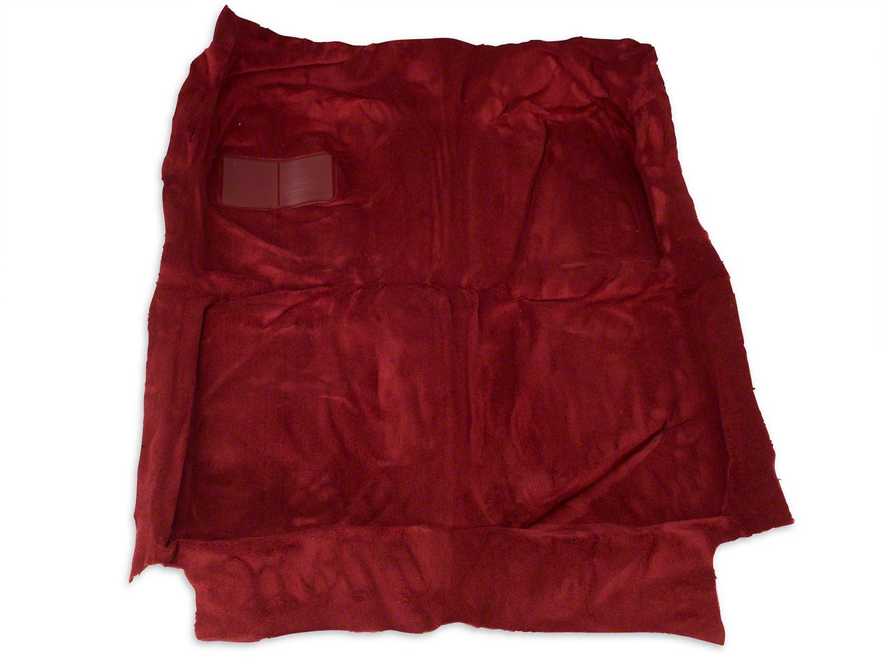 OPR Replacement Floor Carpet - Red (82-93 Convertible)