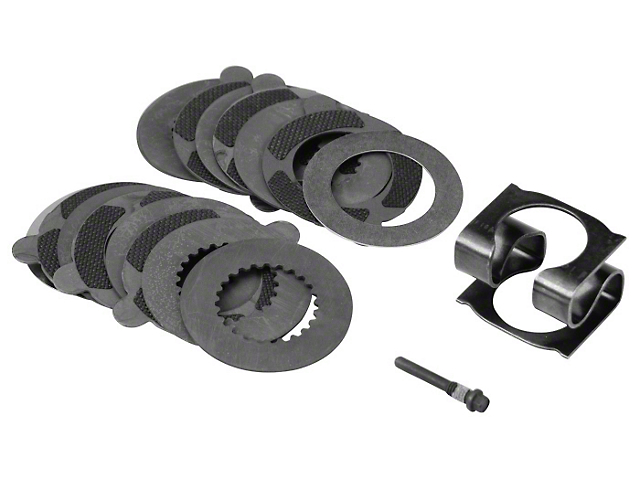 Ford Performance Traction-LOK Rebuild Kit with Carbon Discs; 8.8-Inch (11-14 V6; 86-14 V8, Excluding 13-14 GT500)