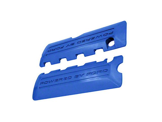 Ford Performance Coil Covers w/ Powered By Ford Logo - Blue (11-17 GT; 12-13 BOSS 302; 15-18 GT350)