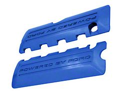 Ford Performance Coil Covers w/ Powered By Ford Logo - Blue (11-17 GT; 12-13 BOSS 302; 15-20 GT350, GT500)