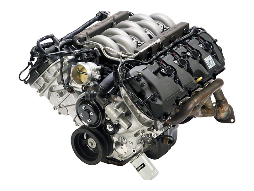 ford performance mustang coyote 5 0 4v 412hp crate engine m 6007 m50 rh americanmuscle com