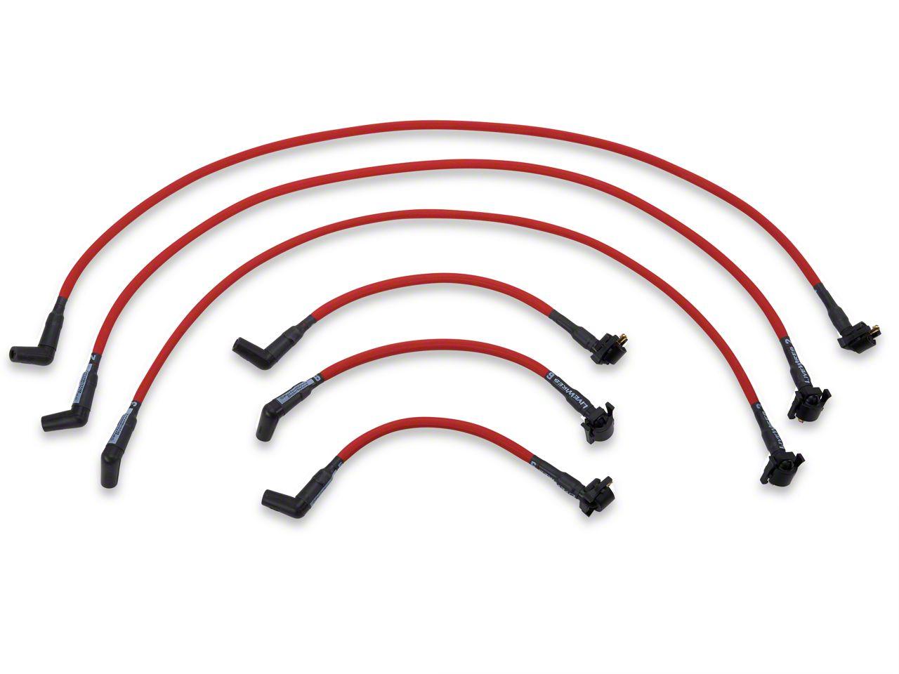 Performance Distributors Livewires 10mm Spark Plug Wires - Red (99-00 V6)