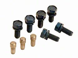 Ford Performance Pressure Plate Bolt and Dowel Kit (86-Mid 01 V8, Excluding 99-01 Cobra)
