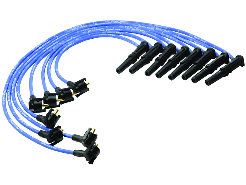 Ford Performance Mustang High Performance 9mm Spark Plug Wires ...