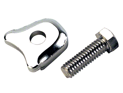 Ford Performance Chrome Distributor Hold Down Clamp (79-95 All)
