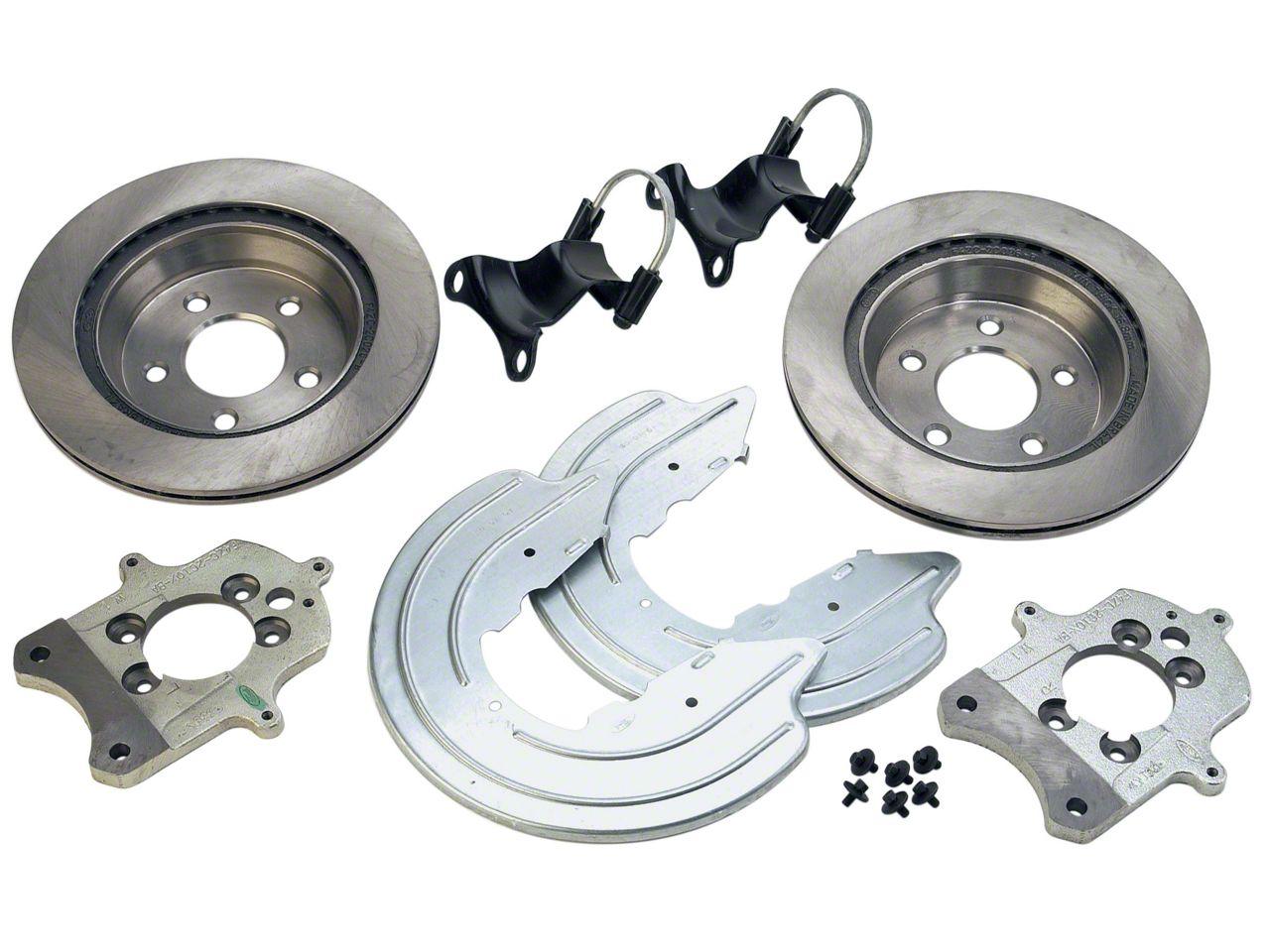 Ford Performance Rear Caliper Bracket Kit with Rotors (94-04 GT, V6)