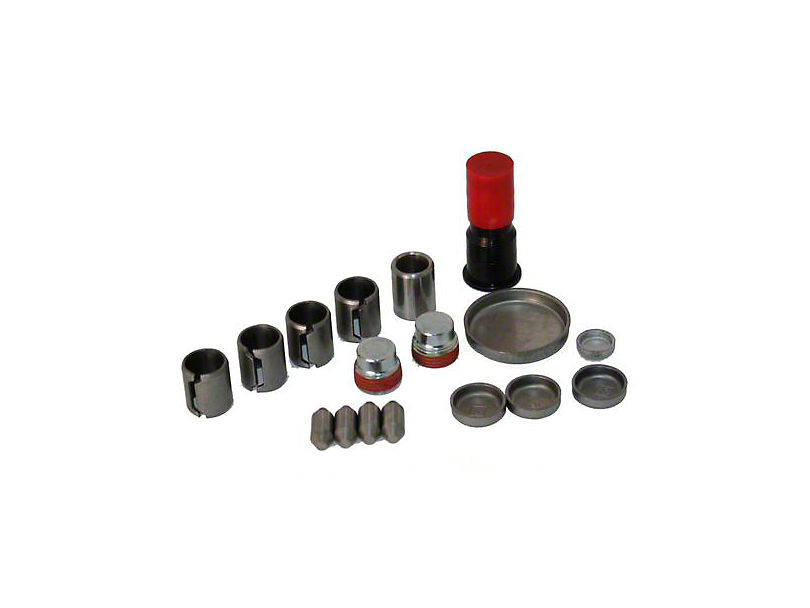 Ford Performance Freeze Plug & Dowel Kit - Aluminum Block (96-01 Cobra; 03-04 Mach 1)