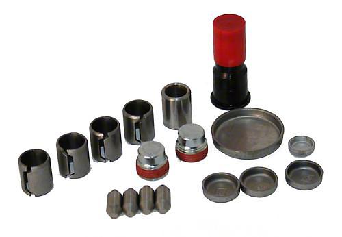 Ford Performance Freeze Plug & Dowel Kit - Aluminum Block (96-01 Cobra; 03-04 Mach 1)