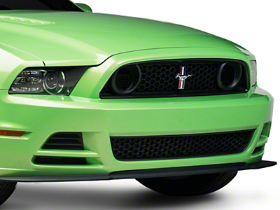 Ford Performance BOSS 302S Grille w/ Emblem - Unpainted (13-14 GT; 2013 BOSS 302)