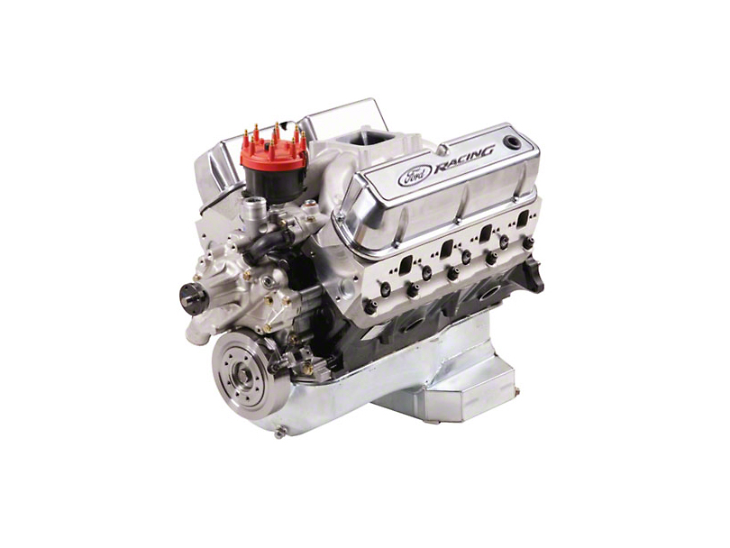 Ford Performance 347 CI 415 HP Sealed Racing Engine 7mm Valves