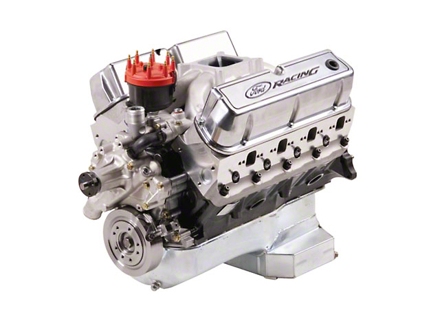 Ford Performance 347 Cubic Inch 415 HP Sealed Racing Engine 7mm Valves