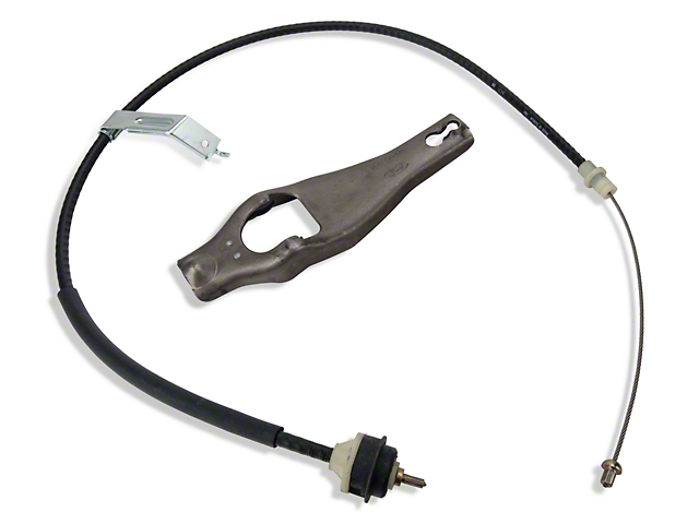 Ford Performance Clutch Cable and Fork (79-93 5.0L)
