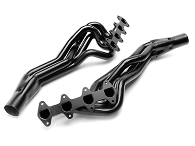 PaceSetter 1-3/4 in. Black Long Tube Headers (05-10 GT)