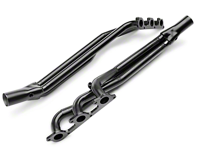 PaceSetter 1-5/8 in. Black Long Tube Headers (05-10 V6)