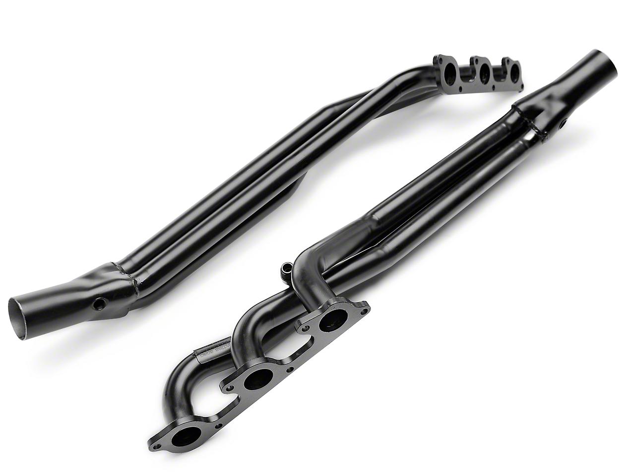 PaceSetter 1-5/8 in. Black Long Tube Headers (05-10 V6)