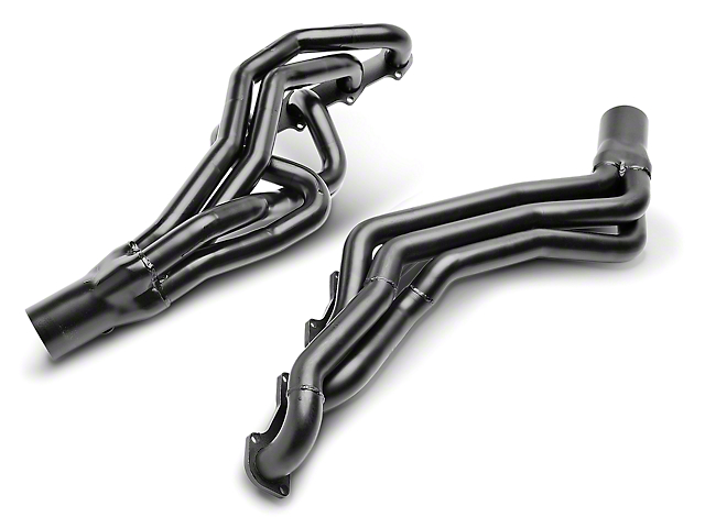 PaceSetter 1-5/8 in. Black Long Tube Headers (96-04 GT)