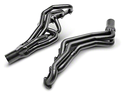 PaceSetter 1-5/8 in. Black Long Tube Headers (96-04 GT)