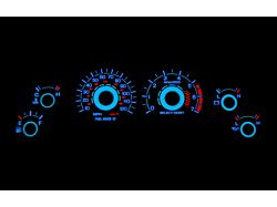 SR Performance White Face Reverse Glow Gauge Insert (99-04 V6)