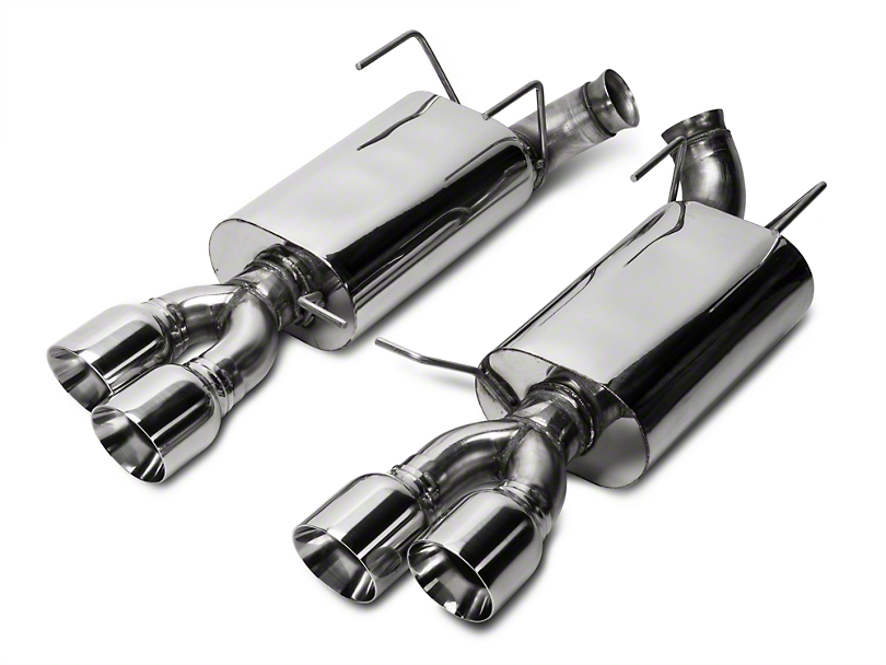 Kooks Performance Axle-Back Exhaust w/ Quad Tips (13-14 GT500)