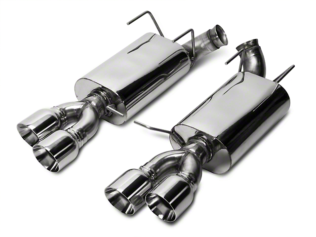 Kooks Performance Axle-Back Exhaust with Quad Tips (13-14 GT500)
