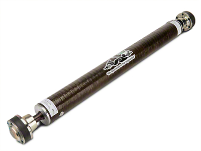 The Driveshaft Shop 3.8 in. Carbon Fiber One Piece Driveshaft (13-14 GT500)