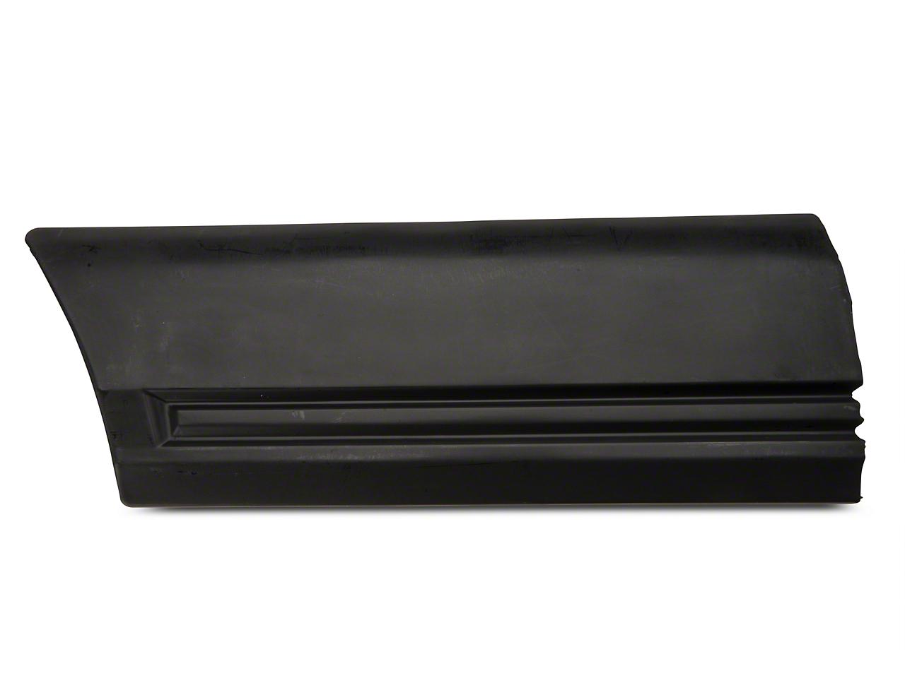 OPR Left Side Fender Body Molding - Rear (85-86 All)