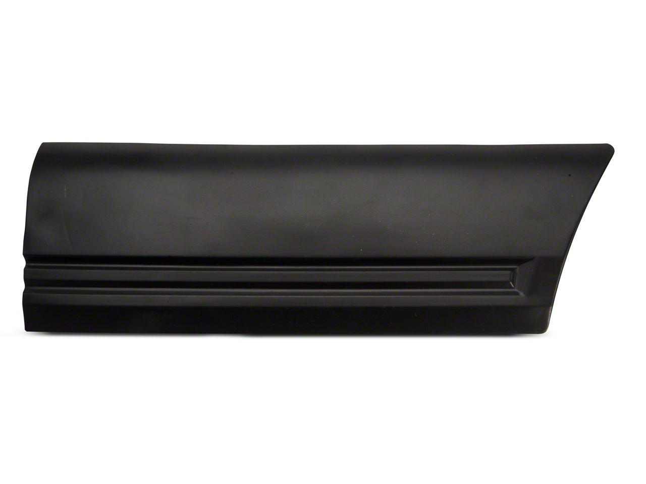 OPR Left Side Quarter Body Molding - Front (85-86 LX)