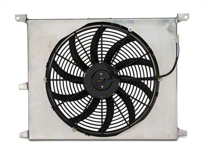 Add SR Performance Universal 16 in. High Performance Slim Electric Radiator Fan w/ Shroud (79-14 All)