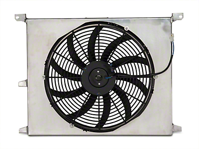 SR Performance Universal 16 in. High Performance Slim Electric Radiator Fan w/ Shroud (79-18 All)
