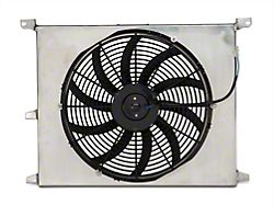 SR Performance Universal 16-Inch High Performance Slim Electric Radiator Fan with Shroud (79-20 All)