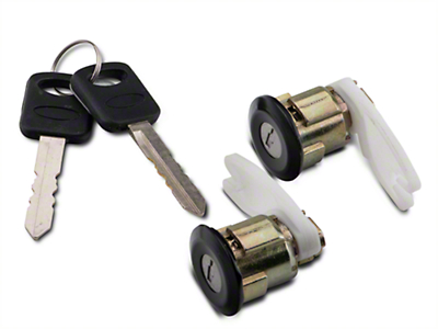 OPR Door Lock Set - Black (94-95 All)