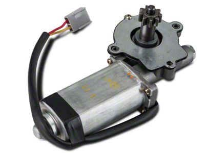 Add Power Quarter Window Motor - Driver Side - Convertible (84-93 Convertible)