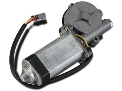 Add Power Quarter Window Motor - Passenger Side - Convertible (84-93 Convertible)