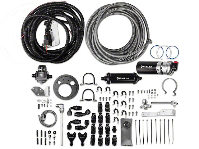 Fuelab Direct Fit Total Fuel System Kit - 1800 HP (07-09 GT500)