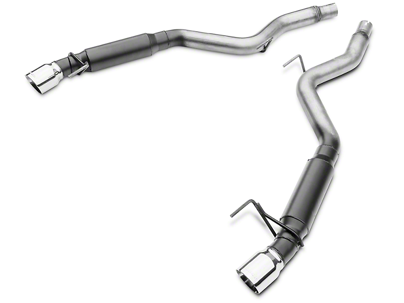 Flowmaster Outlaw Axle-Back Exhaust (15-19 EcoBoost w/o Active Exhaust)