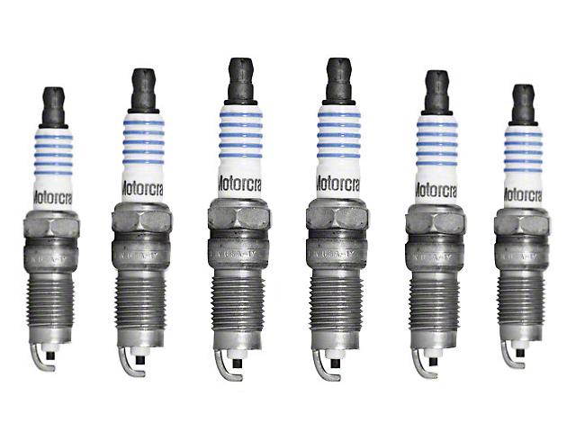 Ford Motorcraft OEM Spark Plugs (06-10 V6)
