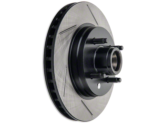 StopTech Sport Slotted Rotors; Front Pair (87-93 5.0L)