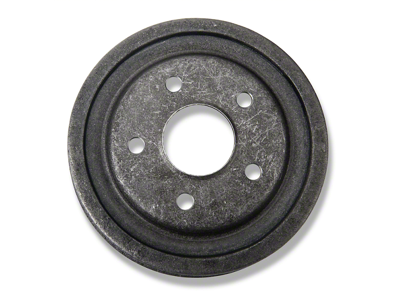 OPR Replacement Rear Drum; 5-Lug (79-93 w/ 5 Lug Conversion)