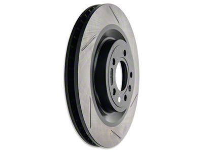 StopTech Slotted Brake Rotors - Front Pair (11-14 Standard GT)