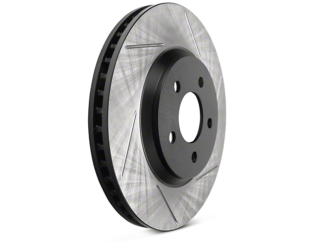 StopTech Sport Slotted Rotors; Front Pair (11-14 V6)